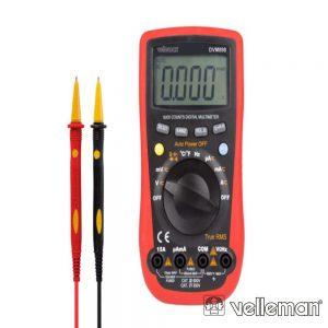 Multímetro Digital - CAT III 600V / CAT IV 300V VELLEMAN - (DVM898)