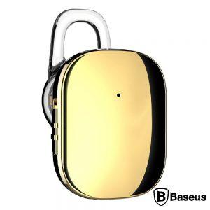 Auricular Bluetooth V4.1 C/ Microfone Gold BASEUS - (NGA02-0V)