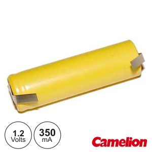 Bateria Ni-Cd AAA 1.2V 350ma C/ Patilhas CAMELION - (NI-CDR03AAA)