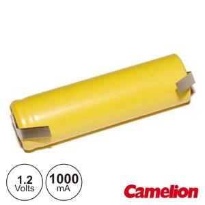 Bateria Ni-Cd AA 1.2V 1000ma C/ Patilhas CAMELION - (NI-CDR06AA)