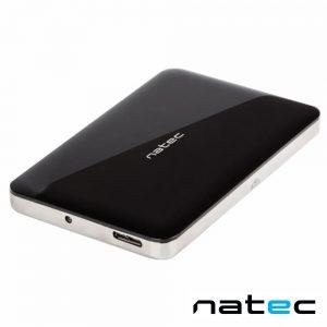 "Caixa Alumínio USB 3.0 P/ Discos HDD 2.5"" SATA III NATEC - (NKZ-0716)"