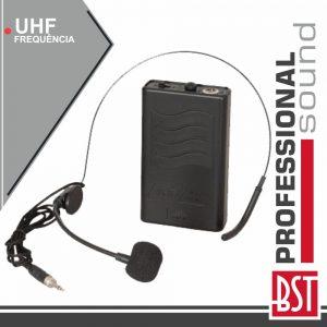 Microfone Headset S/ Fios P/ Nomad8uhf E Nomad12uhf BST - (NOMAD-HEADSET)