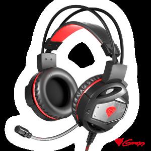 Auscultadores Gaming 2.0 Preto/Vermelho NEON 350 GENESIS - (NSG-0943)