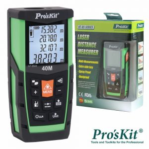 Medidor De Distâncias Digital C/ Laser 40m PROSKIT - (NT-8540)