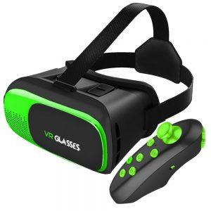 Óculos De Realidade Virtual 3d C/ Comando P/ Smartphone - (EGV300R)