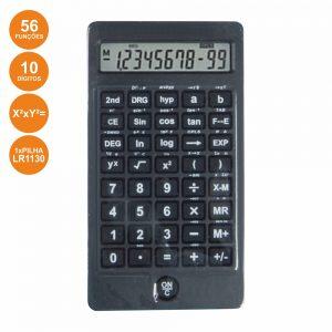 Máquina Calculadora Científica 10 Dígitos - (OFT876)