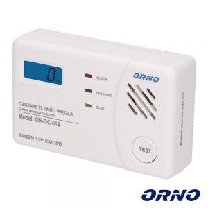 Detetor De Monóxido De Carbono ORNO - (OR-DC-619)