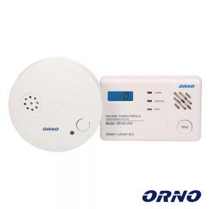 Conjunto Detetores De Monóxido De Carbono e Fumo ORNO - (OR-DC-620)