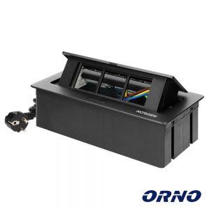 Caixa de Encastrar P/ Tomadas Modulares ORNO - (OR-GM-9010/B)