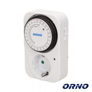 Temporizador Analógico Ajustável 24h ORNO - (OR-PRE-415(GS))