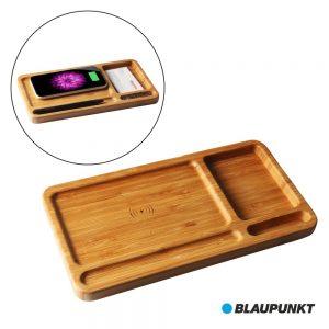 Organizador c/ Carregador p/ Indução Bambu BLAUPUNKT - (BLP7630.193)