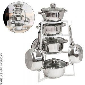 Organizador de Cozinha P/ Panelas - (INVGA078)