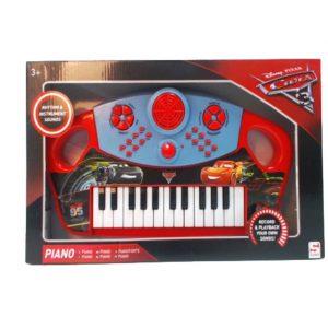 Orgão Teclado Elétrico Musical E Faixas Disney Cars - (TOYS062)
