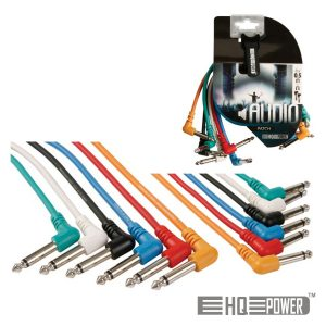 Cabo 6-Jack 6.35mm Macho / Macho 1M HQ POWER - (PAC126)