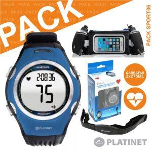 Pack Sport C/ Relógio Desporto E Bolsa Desporto PLATINET - (PACK SPORT06)