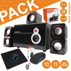 Pack Gaming Spk214+mm712n+padgamer02 - (PACK GAMING01)