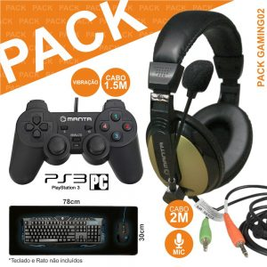 Pack Gaming Hdp008+mm813+padgamer04 - (PACK GAMING02)