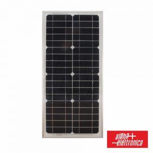 Painel Fotovoltaico 21.7V 27W Silicio Monocristalino ALPHA - (MM027-12/1)