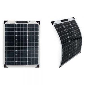 Painel Fotovoltaico Silicio Monocristalino 12V 20W - (PAINEL-SOLAR-01)