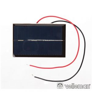 Painel Fotovoltaico 0.5V - 800mA VELLEMAN - (SOL2N)