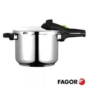 Panela De Pressão Regulável 8L Inox FAGOR - (RAPID-8L)