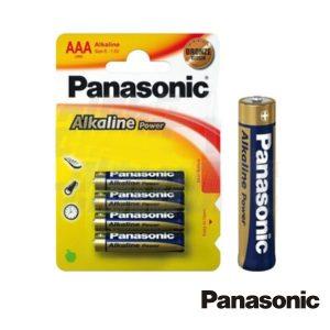 Pilha Alcalina LR03/AAA 1.5v 4x Blister Panasonic - (PAP-LR03AP/4BP)
