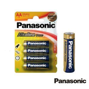 Pilha Alcalina LR6/AA 1.5v 4x Blister Panasonic - (PAP-LR6AP/4BP)