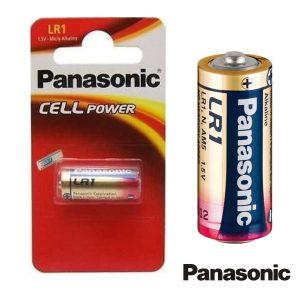 Pilha Alcalina LR1/N 1.5v Blister Panasonic - (PAP-LR1)