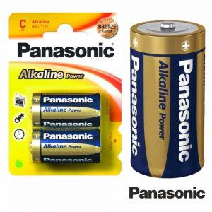 Pilha Alcalina LR14/C 1.5v 2x Blister Panasonic - (PAP-LR14AP/2BP)