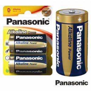 Pilha Alcalina LR20/D 1.5v 2x Blister Panasonic - (PAP-LR20AP/2BP)