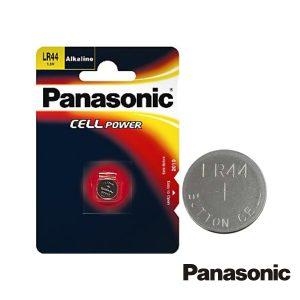 Pilha Botão Alcalina 1.5v/LR44 Blister Panasonic - (PAP-LR44)