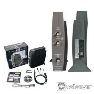 Osciloscópio 2 Canais P/ Pc USB C/ Gerador Sinais VELLEMAN - (PCSGU250)
