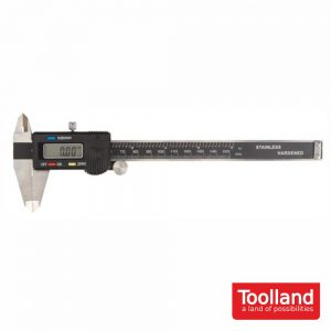 Peclise Digital 150mm Aço Inoxidavél TOOLLAND - (3472)