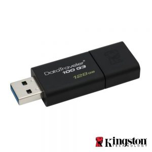 Pen USB 128GB USB3.0 Kingston - (DT100G3/128GB)