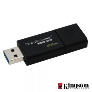 Pen USB 32GB USB3.0 Kingston - (DT100G3/32GB)