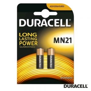 Pilha Alcalina A23/LR23A 12V 2x Blister DURACELL - (PAD-A23/2)