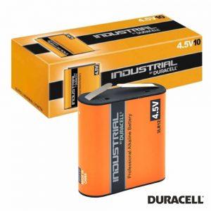 Pilha Alcalina 3LR12 4.5V 10X Industrial DURACELL - (PAD-IND4.5V)