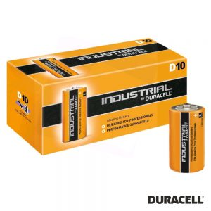 Pilha Alcalina LR20/D 10X Industrial DURACELL - (PAD-INDD)