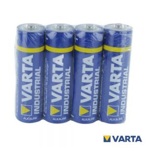 Pilha Alcalina LR03/AAA 1.5V 4x Industrial VARTA - (PAV-INDAAA)