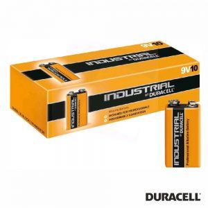 Pilha Alcalina 9V/6LR61 10X Industrial DURACELL - (PAD-IND9V)
