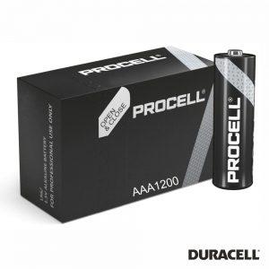 Pilha Alcalina LR03/AAA 1.5V 1200X PROCELL - (PAD-INDPROAAA/B)
