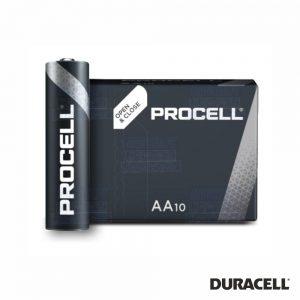 Pilha Alcalina LR03/AAA 1.5V 10X Industrial PROCELL - (PAD-INDPROAAA)