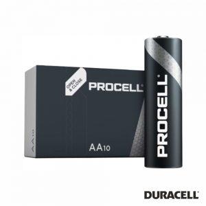 Pilha Alcalina LR6/AA 1.5V 10X Industrial PROCELL - (PAD-INDPROAA)