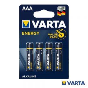 Pilha Alcalina LR03/AAA 1.5V 4x Blister VARTA - (PAV-LR03/4)