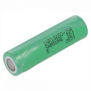 Pilha Lithium 18650 3.6v 2500mAh Recarregável - (BAT18650/2.5B)