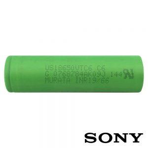 Pilha Lithium 18650 3.6v 3120mA Sony/Murata - (US18650VTC6)