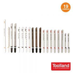 Conjunto 19 Serras P/ Tico-Tico TOOLLAND - (PJS1)
