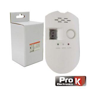 Detector De Gás C/ Alarme PROK - (PKD SENSGAS)
