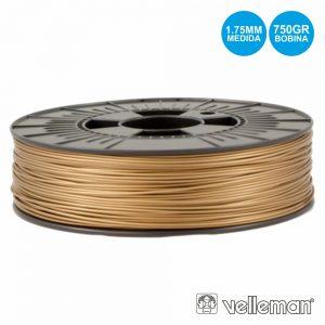 Rolo De Filamento P/ Impressão 3d 1.75mm 750g Bronze - (PLA175BG07)