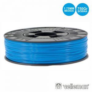 Rolo De Filamento P/ Impressão 3d 1.75mm 750g Azul Claro - (PLA175D07)
